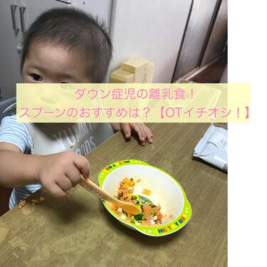 ダウン症児の離乳食!スプーンのおすすめは?【OTイチオシ!】